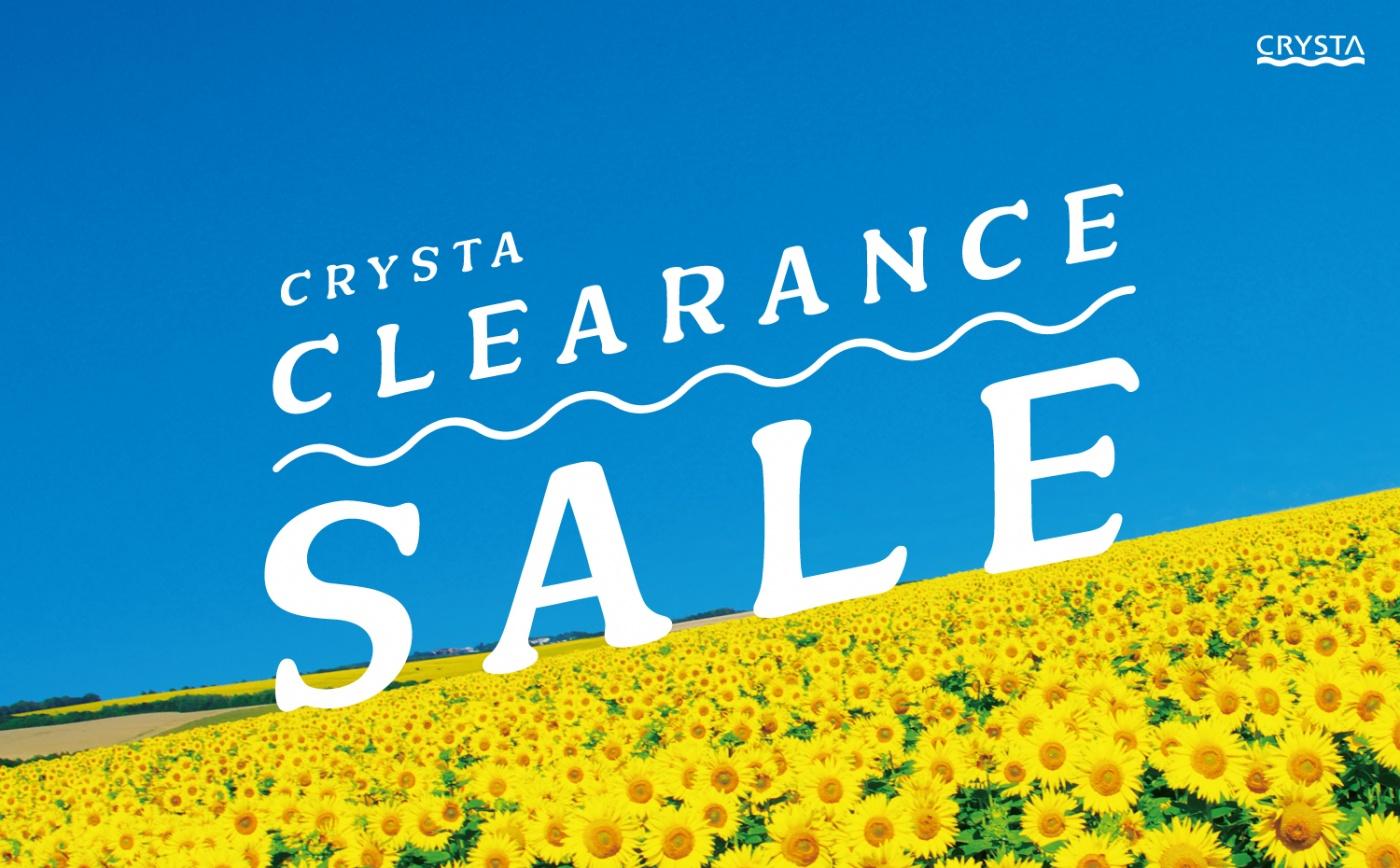 CRYSTA CLEARANCE SALE 2021 SUMMER